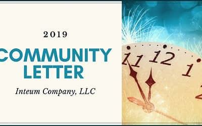 2019 Annual Community Letter