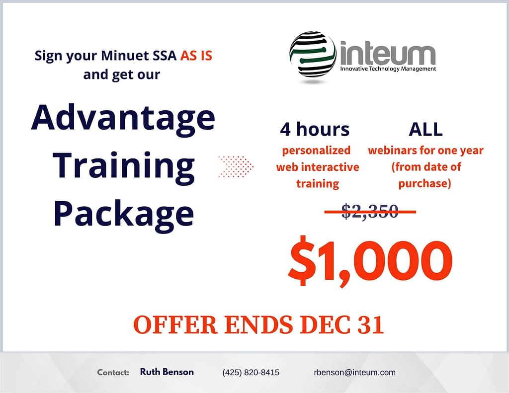 Advantage Training Package